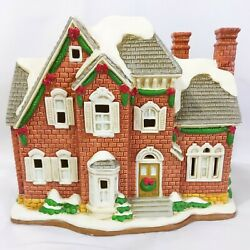 Lefton Colonial Village The Berkely House Christmas 1997 11262 New Cord/light