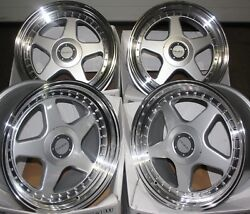 18 Silver Dr-f5 Alloy Wheels Fits Renault Trafic Traffic Peugeot Boxer 5x118