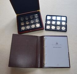 Kings And Queens Of Great Britain Silver Proof Collection 24 Coin Set