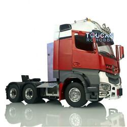 1/14 Lesu Rc Metal 66 Chassis Light Hercules Painted Actros Cabin Tractor Truck