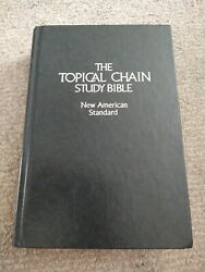 Nasb Topical Chain Study Bible Hardcover