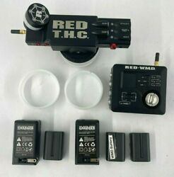 Red Digital Tactical Hand Controller Wireless Motor Driver W/batteriesandchargers