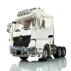 1/14 Lesu Rc Metal 66 Chassis Roof Light Hercules Actros Cabin Tractor Truck