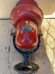 Vintage Federal Sign And Signal Siren, Model A 120v Volts Ac/dc