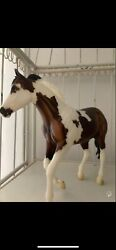 breyer dark bay special run breyerfest 2017 good condition few rubs