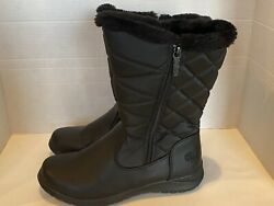 Totes women black snow winter boots size 9 great condition $24.00