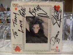 Dead Or Alive All Members Autograph My Heart Goes Bang Ep Record From Japan