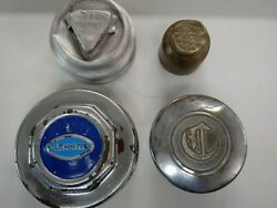 1920s And 30s Hubcaps Lincoln, Hudson, Ford, Chrysler