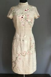 Very Rare Tom Ford Japanese Pink Embroidered Dress S/s 2003