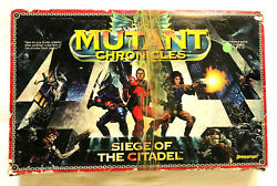 1st Edition Mutant Chronicles Siege Of The Citadel Game Replacement Pieces Parts