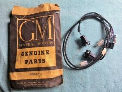 1950's 1960's Gm Chevy Olds Buick Caddy Nos Wire Harness Lamp Lights 4884882