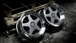 Alloy Wheels 18 Dr-f5 For Mercedes E Class W210 W124 A124 S210 S124 Wr Sp