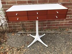 Herman Miller George Nelson Chest 6 Drawer With Pedestal.