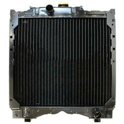 212000 Fits Case/ih Tractor Radiator - 18 X 21 X 2 3/8 Fits New Holland