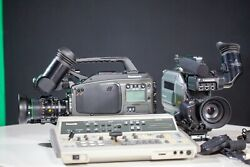2 Vintage Panasonic Ag-dp800 Svhs 3ccd Video Cameras Camcorders