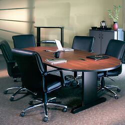 Conference Room Table And Chairs Set W/ Optional Power Modules