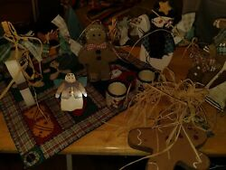 Country Primitive Christmas Decorations