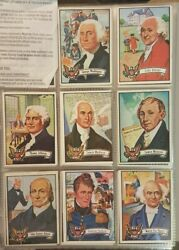 1975 U.s Presidents 37 Card Complete Setw/fordtopps37 Total