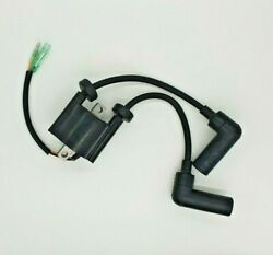 Ignition Coil For 9.9 Hp 15 Hp 4 Stroke Yamaha Outboard 66m-85570-00