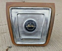1965 1966 1967 Chevy Impala Rear Seat Speaker Grille Cover / Housing Original Gm