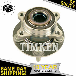 Timken Front Or Rear Wheel Bearing Hub For Ford Fusion And Lincoln Mkz 2013-2016