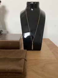 Genuine 18ct Yellow Gold Diamantissima Necklace Fully Hallmarked With Box