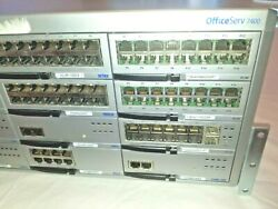 Samsung Officeserv 7400 Phone System Loaded With Cards