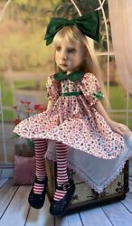 Christmas Dress Outfit For Connie Lowe Big Stella, Meili And Hazel