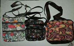 Lot Of 3 LeSportsac crossbody purses $26.24