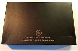 2012 Royal Canadian Mint Proof Coinage Set - 8 Coins - 0.75 Oz Of Silver [ori]