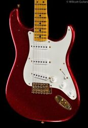Fender Custom Shop And03957 Refin Strat Red Sparkle Willcutt Limited