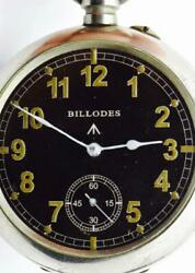 Wow Important Historical Wwi British Royal Air Force Ace Zenith Billodes Watch