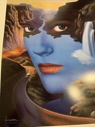 Mother Nature An Iconic Embellished Lithograph Signed By Jim Warren