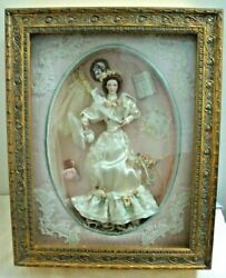 Elaine The Gibson Girl's Wedding Remembrance Bride Doll Franklin Mint No.c0599