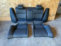 Bmw 2007-2013 E92 Coupe Rear Seat Bench And Back Fold Seats Assembly Set Oem 84mk