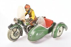 Jouet Ancien. Side-car Tco - Tipp Andco Allemagne. Circa 1958
