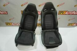 Nissan Gtr Seat 2012 2013 2014 2015 Front Left And Right Gt-r R35 R38 Black Oem