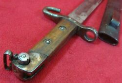 Pre Wwi Mod 1895 Austria Bayonet For Non-commissioned Officer Mannlicher Rifle