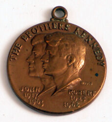Jfk The Brothers Kennedy Bronze Token They Gave Us Their Blood Rare