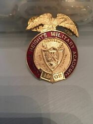 Castle Heights Military Academy 1902 Badge - Vintage