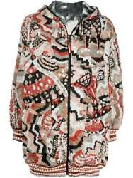Missoni Reversible Quilted Hood Jacket Sz It40 Fw 20/21 Rp3595