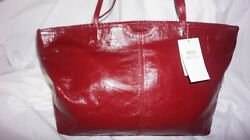 Latico NEW With Tags Genuine Leather Red Bag Purse $45.00