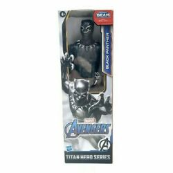 Marvel Avengers Black Panther Titan Series 12quot; Action Figure Hasbro NIB
