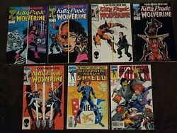 Kitty Pryde And Wolverine 1-5 And Agent Of Shield 1-2 Nm Condition