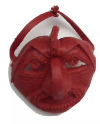 Vintage New Marx Toy Co Johnny West Adventure Chief Cherokee Red Ceremonial Mask