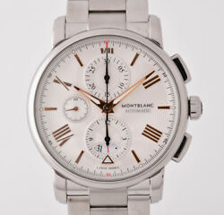 Chronograph Automatic Ref.114856 Stainless Steel Menand039s Watch [b1116]
