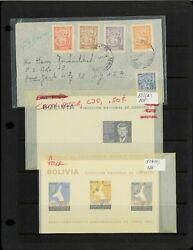 Bolivia Miscellaneous Items On 3 Double-sided Varios And 1 Hagner Stock Sheet.