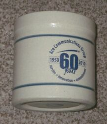 Red Wing Crock - Ace Communications Group 60 Year Mini Advertising Houston Mn