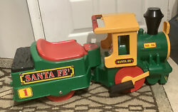 Peg Perego Santa Fe Ride On Train Engine No. 96 W/ New Battery And Charger