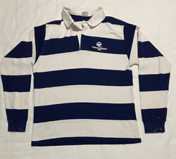 Vtg 1984 Byu National Champion The Big R By Rc Rugby Shirt Long Sleeve Sz Large